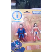 Wonder Woman & Superman.imaginext: By Fisher Price.genial !!
