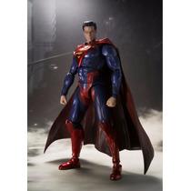 Bandai S.h Figuarts Superman Injustice Version Dc Figura Dam