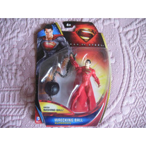 Mattel 2013 Man Of Steel Superman Wrecking Ball