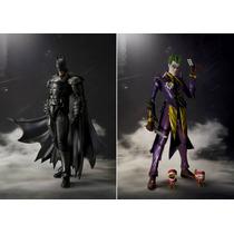 Batman Y Joker Injustice Figuarts Bandai Disponible