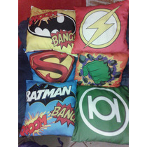 Cojin Decorativo Super Heroes