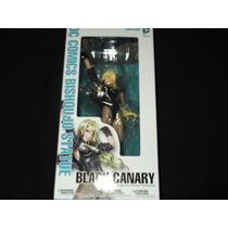 Bishoujo Statue Dc Comics Black Canary-kotobukiya