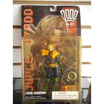 Judge Anderson Juez Dredd Re Action Figures