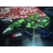 Lote De 7 Transformers Bootleg Mexicano Aviones Maquinas