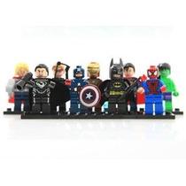 9 Ajusta Minifigures Super Heroes Bloques Serie Juguetes Ven