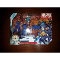 Marvel Universe Fantastic Four 4 Fantasticos Pack Thing Mole