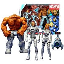 Cuatro Fantasticos Hasbro Año 2010 Marvel Universe Series