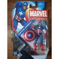 Figura Capitan America Marvel Universe Serie 5 Varios Modelo