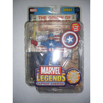 Marvel Legends Toy Biz Capitan America Avengers No Baf Nuevo