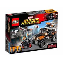 Lego Civil War Capitan America Mod 76050