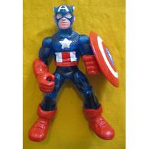 Bootleg Capitan America, No Super Heroe Squad, Micro, Lego