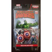 Marvel Legends Shield Wielding Vance Astro Captain America