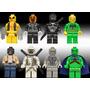 Set De Gosth Rider Storm Shadow Snake Compatibles Con Lego