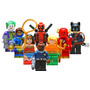 8 Super Heroes Deadpool Flash Gatubela Compatibles Con Lego