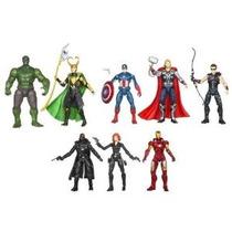 Marvel Exclusiva Figura De Acción De 8-pack Los Vengadores [