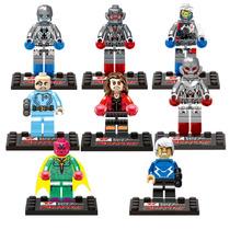 La Era De Ultron Vision Quick Scarlet Avengers 2 Tipo Lego