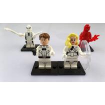 Marvel , Los 4 Fantasticos Version Futura , Tipo Lego