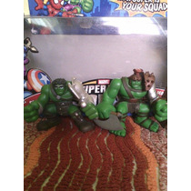 Figuras King Hulk & Planet Hulk Super Hero Squad