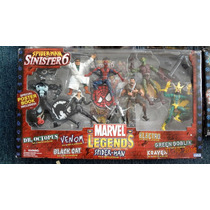 Spider-man Vs Sinister Six Marvel Legends Box Set Toybiz