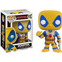 Funko Pop Deadpool Thumb Up Yellow Amarillo Exclusivo