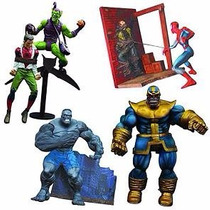 Marvel Select (4 Figuras) Thanos, Green Goblin, Spiderman