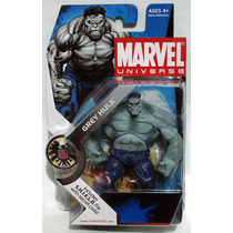 Marvel Universe Grey Hulk # 014 Wave 2 2009 Hasbro 3 3/4