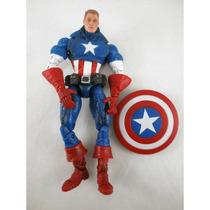 4152l Toy Biz, Marvel Legends, Face Off, Unmasked Captain Am