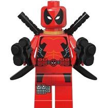 Genial Figura De Deadpool Version Clasico Compatible Lego