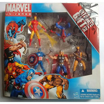 Marvel Universe Gift Pack 5 Figuras 11 Cms Store