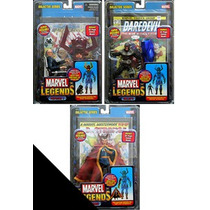 Marvel Legends 3 Figuras De La Serie Galactus Bullseye Varia