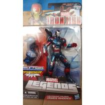 Iron Patriota Avengers Marvel Legends Spiderman Wolverine Dc