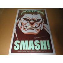 Hulk Print Firmado