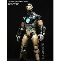 Ultimate War Machine Con Pieza Baf De Ares Marvel Legends