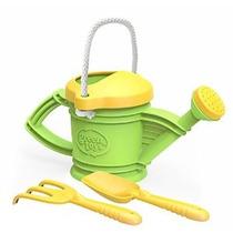 Green Toys Regadera Verde Del Juguete