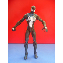 Marvel Universe Spiderman Black Custome Wave 3 2009 Negro