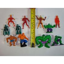 Marvel Mini Hulk, La Mole, Capitan America, Duende Verde!!!