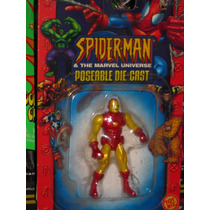 Iron Man Die Cast Metal No Marvel Universe Spiderman X Men