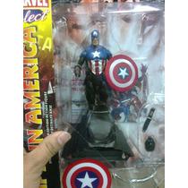 Marvel Select Bucky Capitan America, Nuevo Y Cerrado!!!