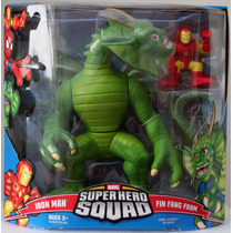 Iron Man Y Fin Fang Foom Super Hero Squad Hasbro Hm4