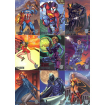 Marvel Vs Dc Amalgam 1996 Trading Card Set Completo Suelto.