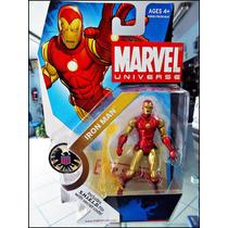 Iron-man,marvel Universe,serie 3 021,nuevo,figura De 14 Cm.