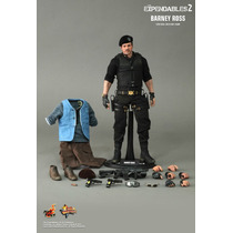 Hot Toys Expendables 2 Barney Ross Nuevo En Mano Stallone