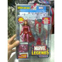 Marvel Legends Toybiz,scarlet Witch, Nuevo Y Cerrado!!!