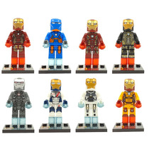 Set Iron Man Legion De Hierro Slh Tipo Lego