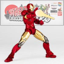 Iron Man Mark 6 Revoltech Figura Pelicula Avengers Japones