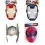 Iron Man Iron Patriot Thor Spiderman Mascara Hasbro Avengers