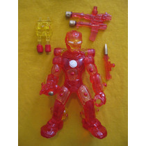 Bootleg Ironman, No Super Heroe Squad, Micro, Lego, Mega