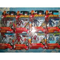 Iron Man Lote De 8 Ultimate, Hipervelocity Silver Centurion