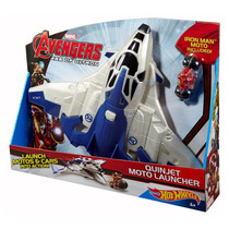 Iron Man Quinjet Marvel Avengers Hot Wheels Mattel