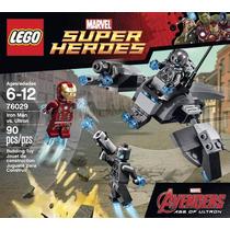 Iron Man Vs Ultron Super Heroes Avengers Marvel Lego
